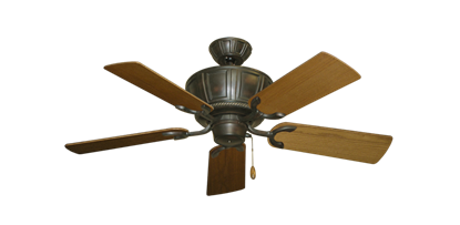 "Picture of Centurion Oil Rubbed Bronze with 44"" Light Oak Blades"