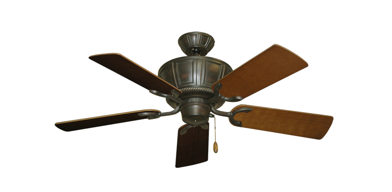 "Centurion Oil Rubbed Bronze with 44"" Natural Cherry Blades"