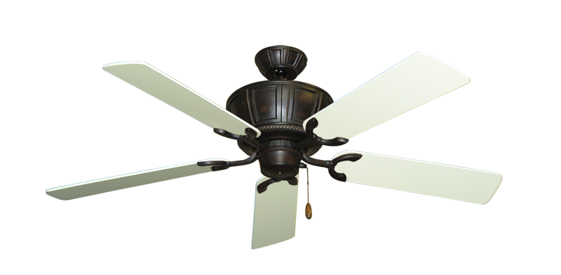 "Picture of Centurion Oil Rubbed Bronze with 52"" Antique White Blades"