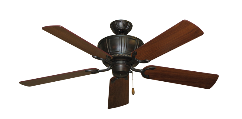 """Picture of Centurion Oil Rubbed Bronze with 52"""" Walnut Blades"""