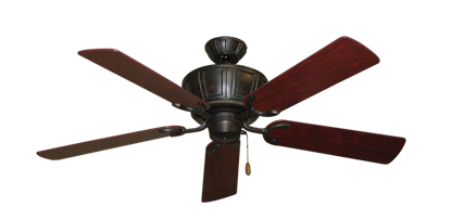"""Centurion Oil Rubbed Bronze with 52"""" Cherrywood Blades"""