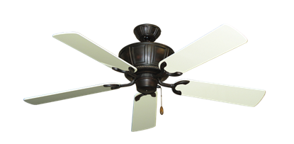 "Picture of Centurion Oil Rubbed Bronze with 52"" Antique White Gloss Blades"