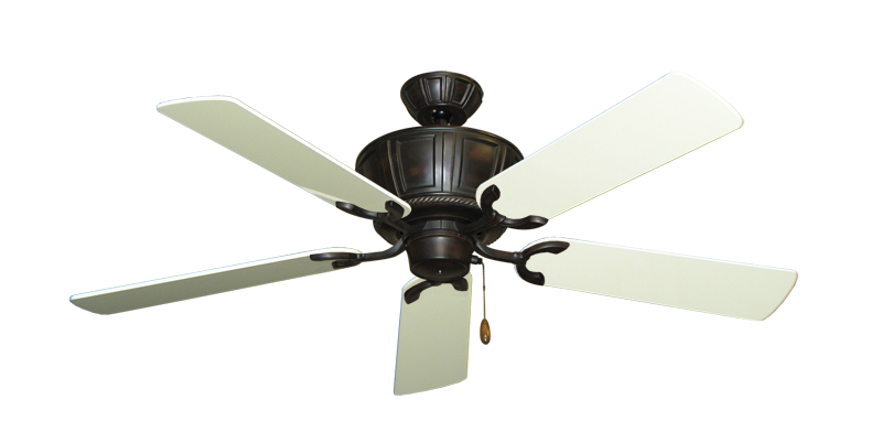"""Picture of Centurion Oil Rubbed Bronze with 52"""" Antique White Gloss Blades"""