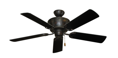 "Picture of Centurion Oil Rubbed Bronze with 52"" Black Blades"
