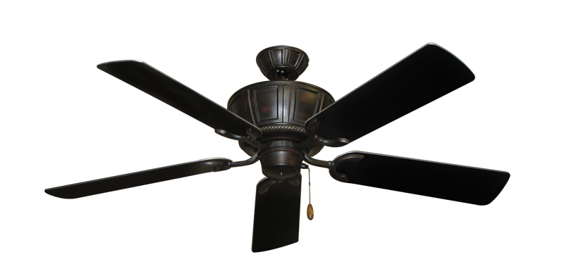 """Picture of Centurion Oil Rubbed Bronze with 52"""" Black Blades"""