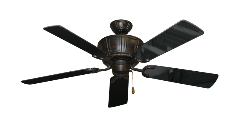 "Picture of Centurion Oil Rubbed Bronze with 52"" Black Gloss Blades"