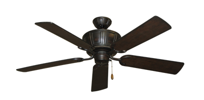 "Picture of Centurion Oil Rubbed Bronze with 52"" Distressed Walnut Blades"
