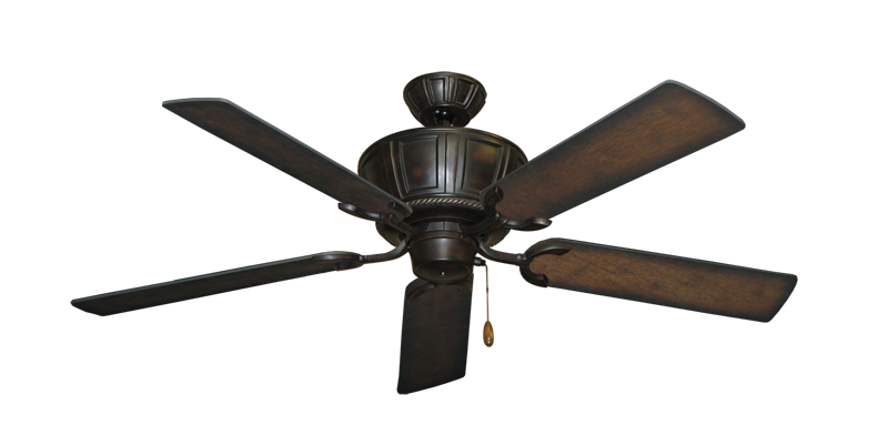 """Picture of Centurion Oil Rubbed Bronze with 52"""" Distressed Hickory Blades"""