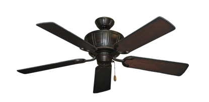 "Picture of Centurion Oil Rubbed Bronze with 52"" Distressed Cherry Blades"