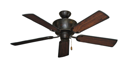 "Picture of Centurion Oil Rubbed Bronze with 52"" Burnt Cherry Blades"