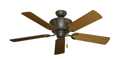 """Picture of Centurion Oil Rubbed Bronze with 52"""" Light Oak Blades"""