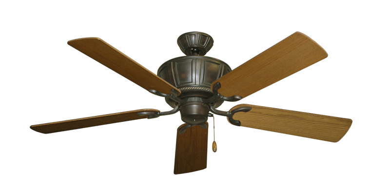 "Picture of Centurion Oil Rubbed Bronze with 52"" Light Oak Blades"