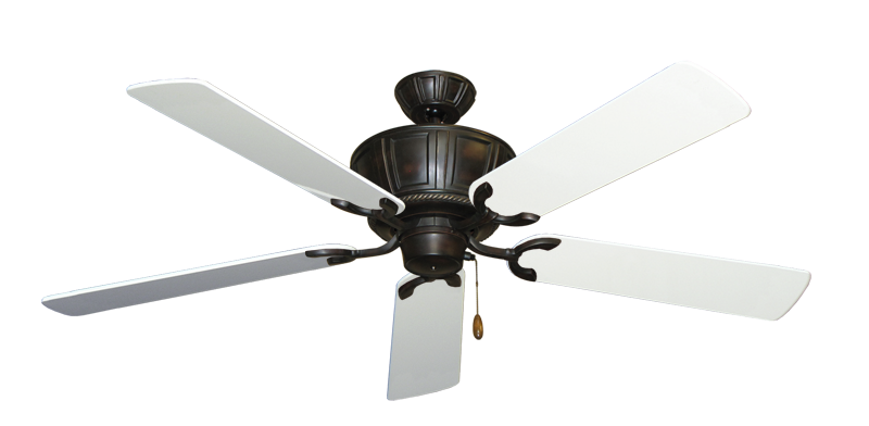 "Picture of Centurion Oil Rubbed Bronze with 56"" Pure White Gloss Blades"