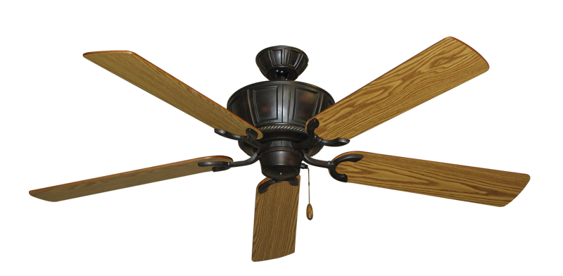 "Picture of Centurion Oil Rubbed Bronze with 56"" Oak Blades"
