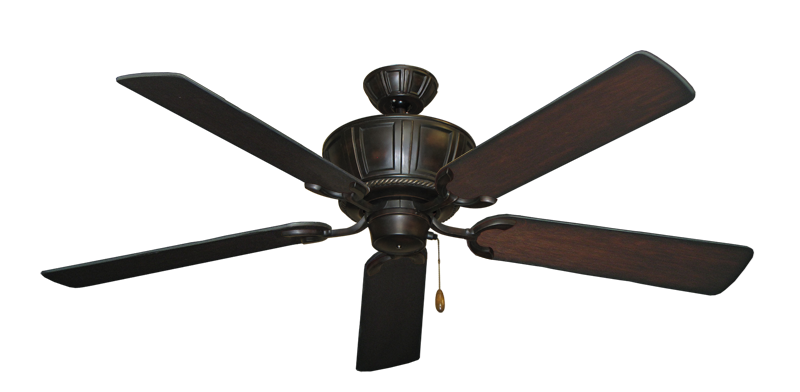 """Centurion Oil Rubbed Bronze with 56"""" Distressed Cherry Blades"""
