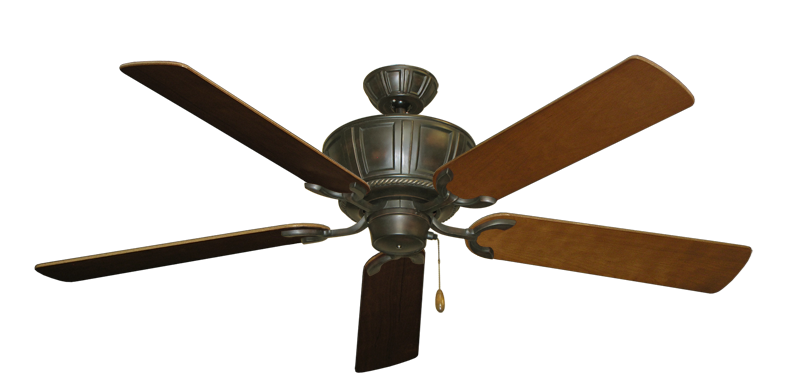 "Picture of Centurion Oil Rubbed Bronze with 56"" Natural Cherry Blades"