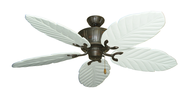 "Picture of Centurion Oil Rubbed Bronze with 58"" Series 100 Arbor Pure White Blades"