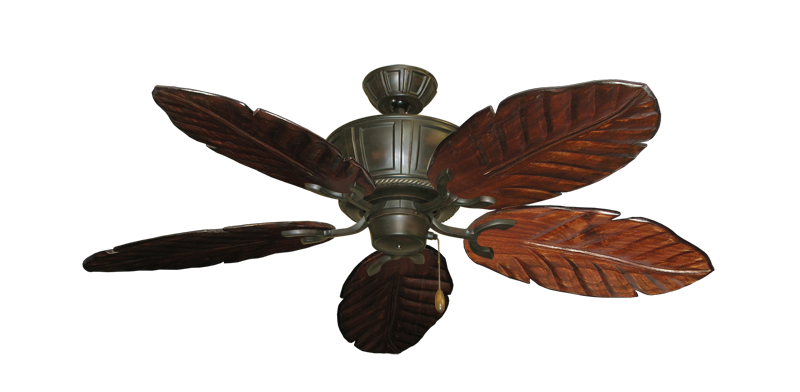 """Centurion Oil Rubbed Bronze with 52"""" Series 125 Arbor Cherrywood Blades"""