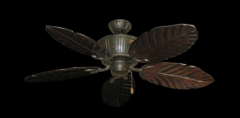 "Picture of Centurion Oil Rubbed Bronze with 52"" Series 125 Arbor Dark Walnut Blades"