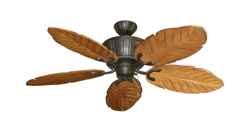 """Picture of Centurion Oil Rubbed Bronze with 52"""" Series 125 Arbor Oak Blades"""
