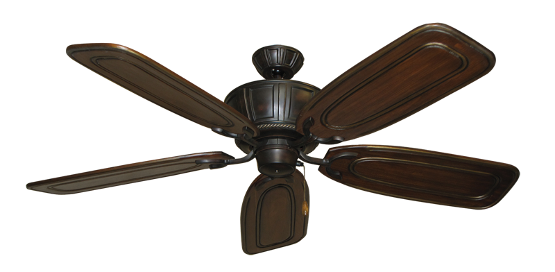 """Picture of Centurion Oil Rubbed Bronze with 58"""" Series 800 Arbor Chestnut Blades"""