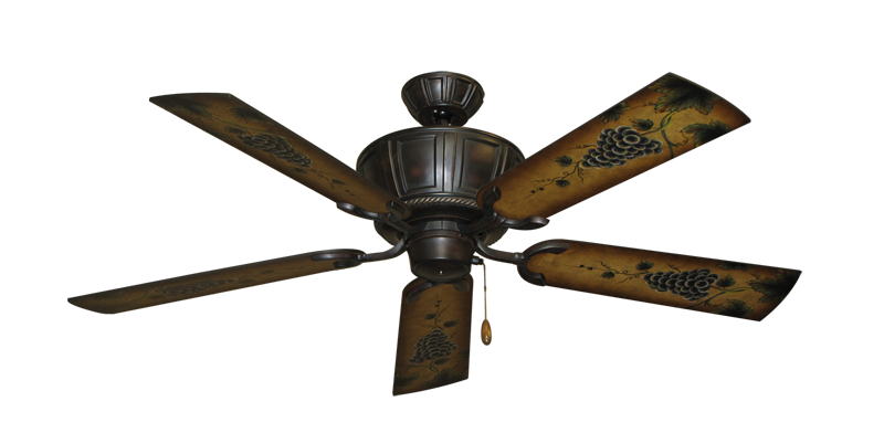 """Picture of Centurion Oil Rubbed Bronze with 52"""" Series 353 Arbor Grapes Blades"""