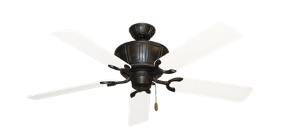 "Picture of Centurion Oil Rubbed Bronze with 52"" Outdoor Pure White Blades"