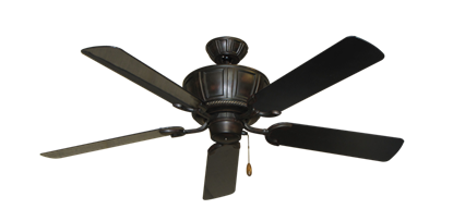 "Picture of Centurion Oil Rubbed Bronze with 52"" Outdoor Black Blades"