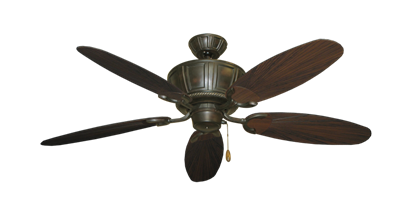 "Picture of Centurion Oil Rubbed Bronze with 52"" Outdoor Leaf Oil Rubbed Bronze Blades"