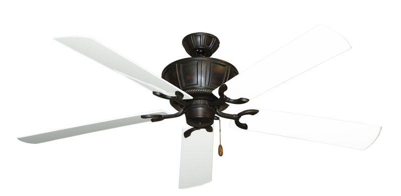 "Picture of Centurion Oil Rubbed Bronze with 60"" Outdoor Pure White Blades"