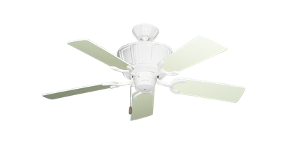 """Picture of Centurion Pure White with 44"""" Antique White Blades"""
