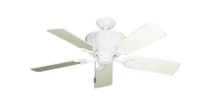 """Picture of Centurion Pure White with 44"""" Antique White Gloss Blades"""