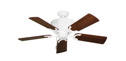 """Picture of Centurion Pure White with 44"""" Walnut Blades"""