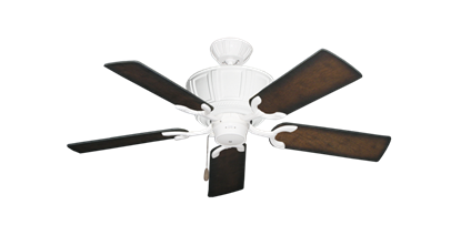 """Picture of Centurion Pure White with 44"""" Distressed Hickory Blades"""