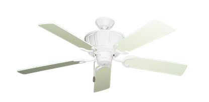 """Picture of Centurion Pure White with 52"""" Antique White Blades"""