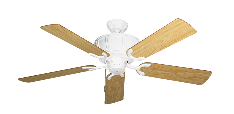 """Picture of Centurion Pure White with 52"""" Maple Blades"""