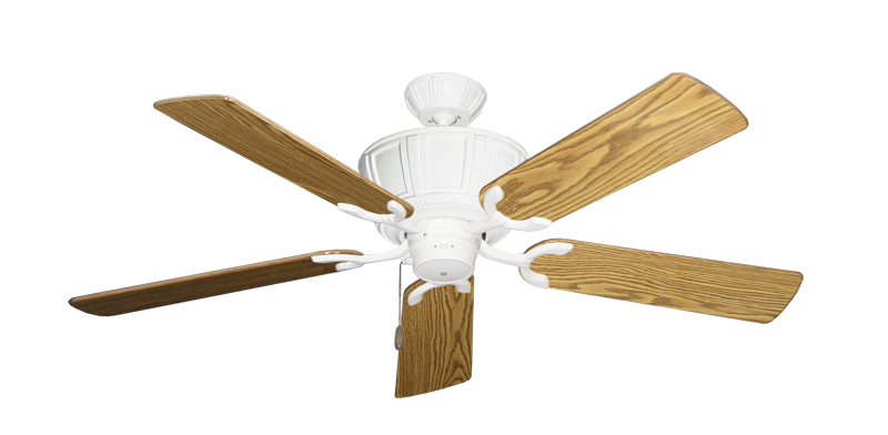 """Picture of Centurion Pure White with 52"""" Oak Gloss Blades"""
