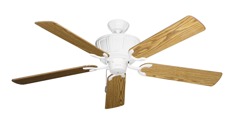 """Picture of Centurion Pure White with 56"""" Oak Gloss Blades"""
