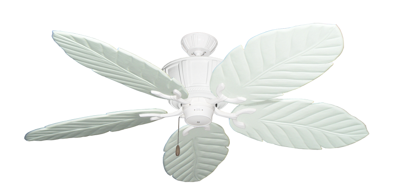 """Picture of Centurion Pure White with 58"""" Series 100 Arbor Pure White Blades"""