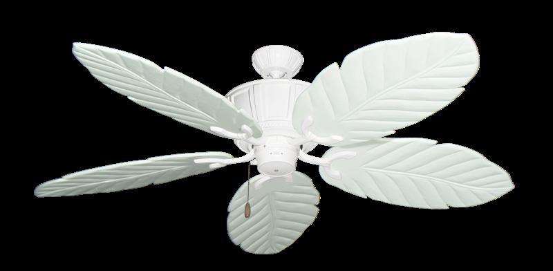 "Centurion Pure White with 58"" Series 100 Arbor Pure White Blades"