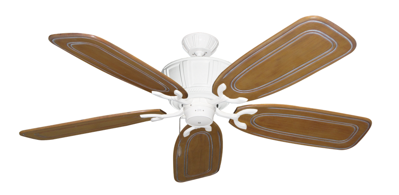 """Picture of Centurion Pure White with 58"""" Series 800 Arbor Pecan Blades"""