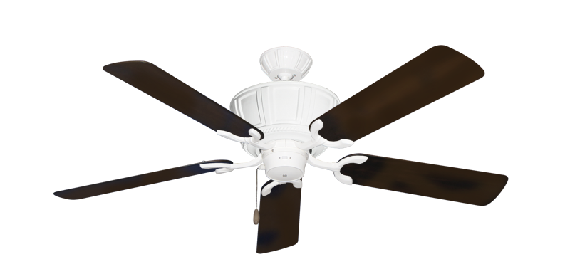 "Picture of Centurion Pure White with 52"" Outdoor Oil Rubbed Bronze Blades"
