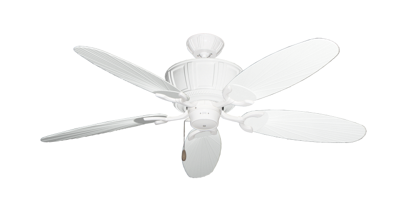 "Picture of Centurion Pure White with 52"" Outdoor Leaf Pure White Blades"