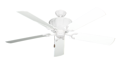 """Centurion Pure White with 60"""" Outdoor Pure White Blades"""
