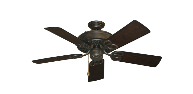 "Picture of Renaissance Oil Rubbed Bronze with 44"" Distressed Walnut Blades"