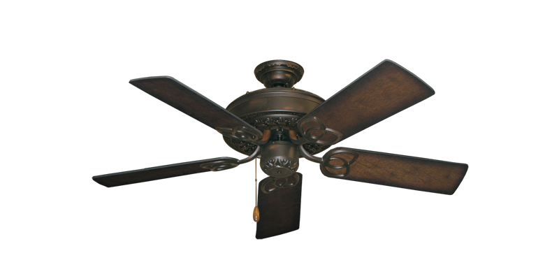 """Picture of Renaissance Oil Rubbed Bronze with 44"""" Distressed Hickory Blades"""