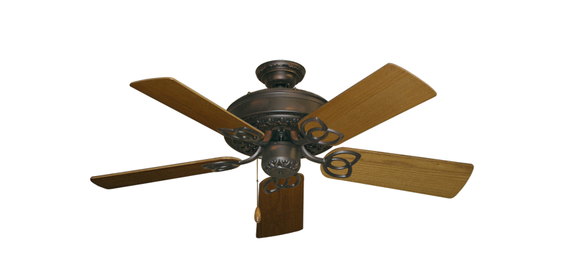 "Picture of Renaissance Oil Rubbed Bronze with 44"" Light Oak Blades"