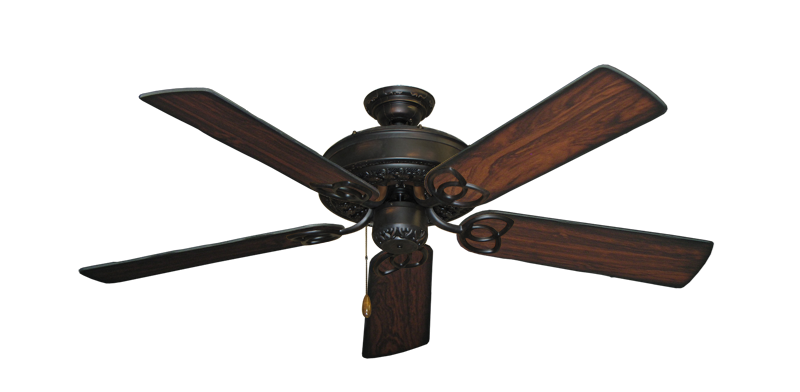 "Picture of Renaissance Oil Rubbed Bronze with 52"" Burnt Cherry Blades"
