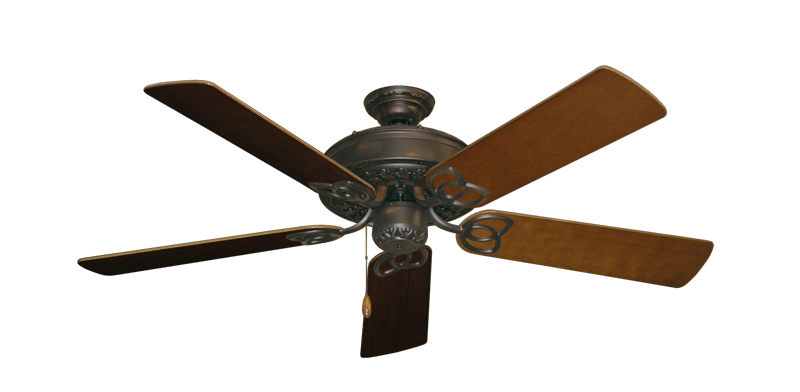 "Picture of Renaissance Oil Rubbed Bronze with 52"" Natural Cherry Blades"