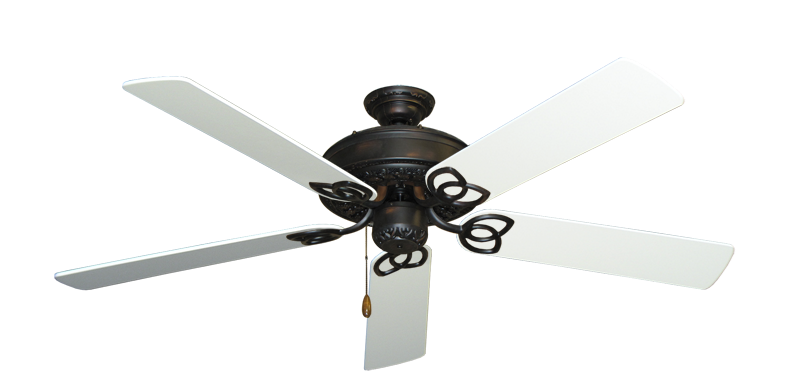 "Picture of Renaissance Oil Rubbed Bronze with 56"" Pure White Blades"